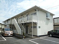 東京都青梅市千ヶ瀬町3丁目の賃貸アパートの外観