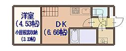 AVERE 京阪本通[1003号室]の間取り
