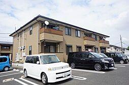愛知県豊川市大崎町野中の賃貸アパートの外観