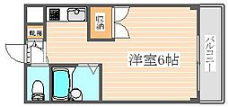 ドムール大楠[4階]の間取り