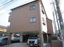 大阪府大阪狭山市池尻中3丁目の賃貸マンションの外観