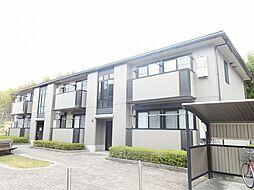 滋賀県甲賀市水口町北泉の賃貸アパートの外観