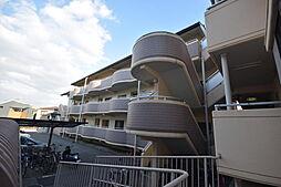大阪府羽曳野市高鷲1丁目の賃貸マンションの外観
