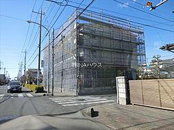 埼玉県上尾市緑丘1丁目の賃貸アパートの外観