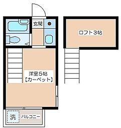 セドルハイム千歳台[2階]の間取り