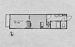 パークアベニューII[402号室]の間取り