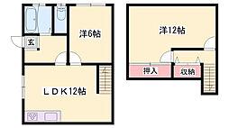 JR播但線 寺前駅 徒歩5分の賃貸アパート