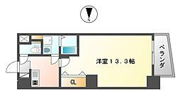 ヴィレッタEBISU東[5階]の間取り