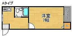 チアフルハウス1年22組[2階]の間取り