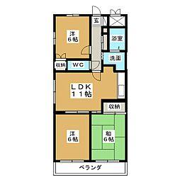 D.flat[2階]の間取り