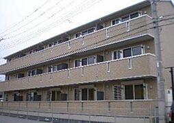 ルミエールヤナセB[1階]の外観