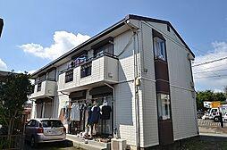 東京都昭島市朝日町4丁目の賃貸アパートの外観