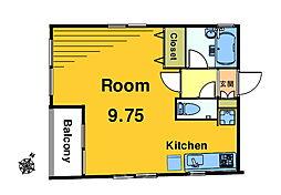 YSK・IIマンション[4階]の間取り