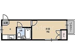 カーサ・シギノ[2階]の間取り
