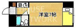 ヴィラ紫竹[208号室号室]の間取り