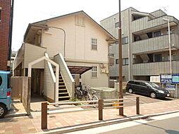 東京都世田谷区南烏山2丁目の賃貸アパートの外観