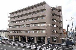 岡山県岡山市北区白石東新町の賃貸マンションの外観