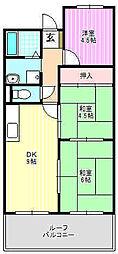 末広ビル[4階]の間取り
