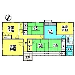 [一戸建] 愛知県名古屋市天白区海老山町 の賃貸【/】の間取り