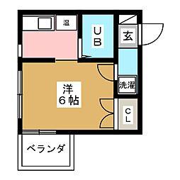 エステート大須[3階]の間取り
