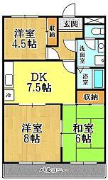 第二田口ビル[3階]の間取り