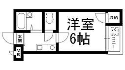 プレアール高柳[0109号室]の間取り