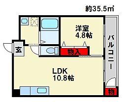 第2嶋村ビル[2階]の間取り
