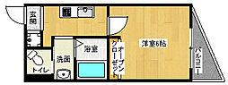 京都府京都市北区小山西花池町の賃貸マンションの間取り