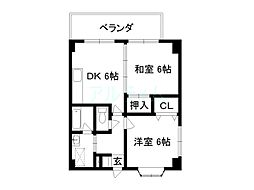 トレジャハウス48[2階]の間取り