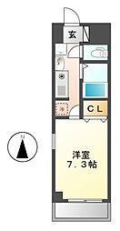 SouthPark・izumi[3階]の間取り