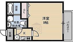 ドゥエリング大宮4階Fの間取り画像