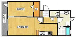 アリス京町[1階]の間取り