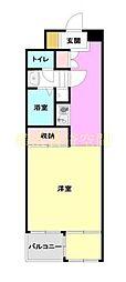 コージーハウス横浜南[5階]の間取り