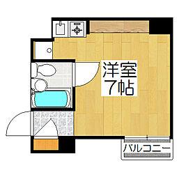 リエス東堀川[907号室]の間取り