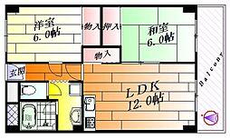 アンソレイユ[2階]の間取り