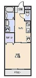 三和伊勢崎[1階]の間取り