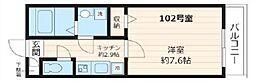 ジュピター八千代台[1階]の間取り