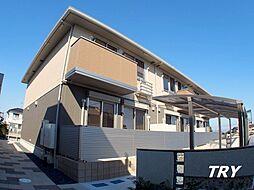 奈良県葛城市當麻の賃貸アパートの外観