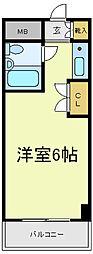 ネオコート天王寺[2階]の間取り
