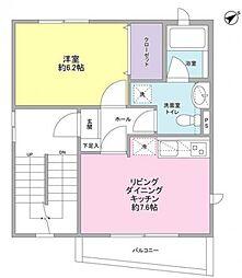 A-Flat[4階]の間取り