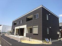 愛知県小牧市下小針天神3丁目の賃貸アパートの外観