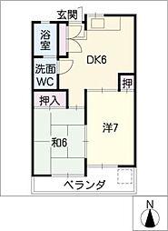 大塚ビル[2階]の間取り
