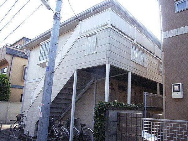 東京都杉並区高円寺北4丁目の賃貸アパートの外観