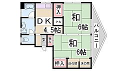 小高マンション[2階]の間取り