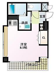 加古川尾上ヤングパレス[2階]の間取り