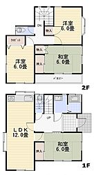 [一戸建] 埼玉県飯能市大字双柳 の賃貸【/】の間取り