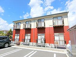 長野県長野市丹波島2丁目の賃貸アパートの外観