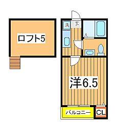 DHG.恵[2階]の間取り
