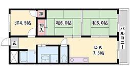 第2若宮マンション[3階]の間取り