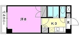 ジョイフル第5中村[107 号室号室]の間取り